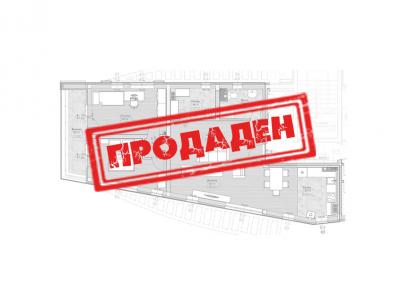 Апартамент 13 | етаж 5 – Продаден